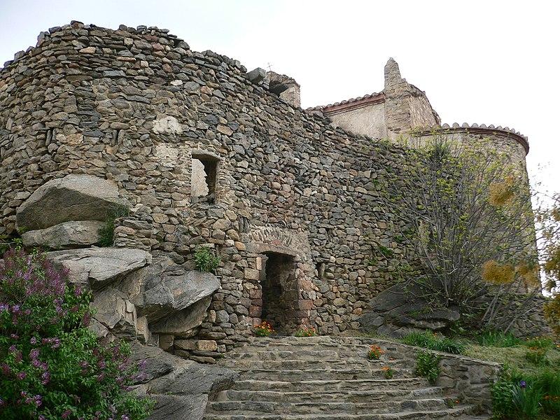Photo du Monument Historique Eglise paroissiale Notre-Dame des Escaliers de Marcevol situé à Arboussols