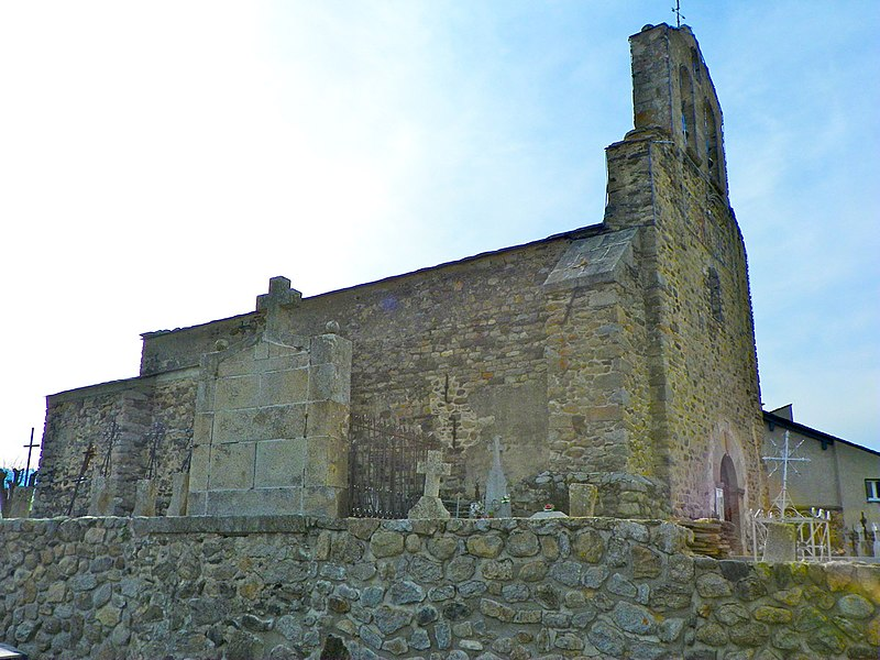 Photo du Monument Historique Eglise Saint-Assiscle et Sainte-Victoire de Villeneuve-des-Escaldes situé à Angoustrine-Villeneuve-des-Escaldes