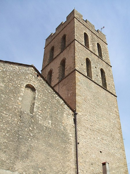 Photo du Monument Historique Eglise Notre-Dame del Prat situé à Argelès-sur-Mer