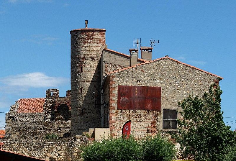 Photo du Monument Historique Hameau du Taxo d'Avall situé à Argelès-sur-Mer