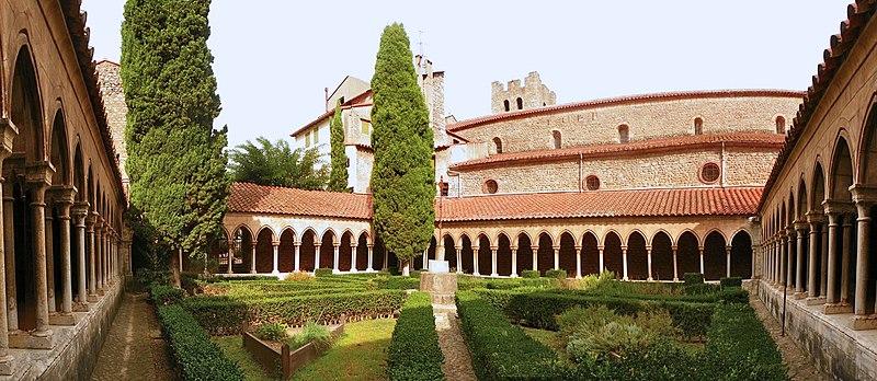 Photo du Monument Historique Abbaye Sainte-Marie situé à Arles-sur-Tech