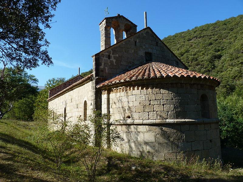 Photo du Monument Historique Chapelle Saint-Pierre de Riuferrer situé à Arles-sur-Tech
