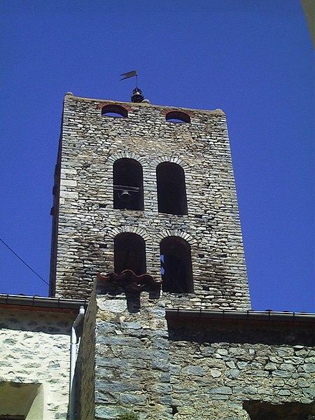 Photo du Monument Historique Tour Saint-Sauveur situé à Arles-sur-Tech
