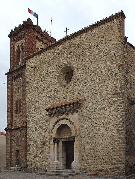 Photo du Monument Historique Eglise Sainte-Marie situé à Le Boulou