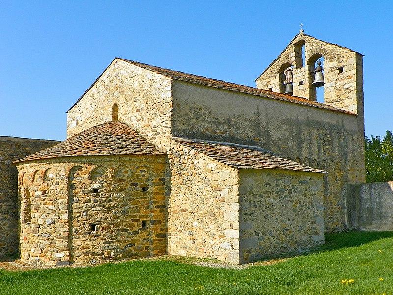 Photo du Monument Historique Eglise Saint-Romain de Caldegas situé à Bourg-Madame