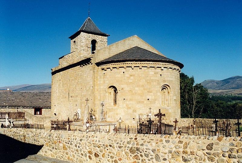 Photo du Monument Historique Eglise Saint-Martin de Hix situé à Bourg-Madame