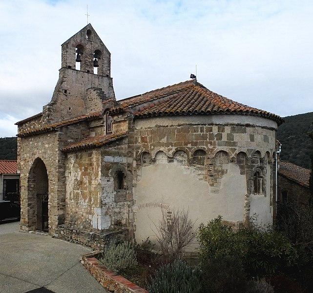 Photo du Monument Historique Eglise paroissiale Saint-Pierre et Saint-Félix situé à Calmeilles