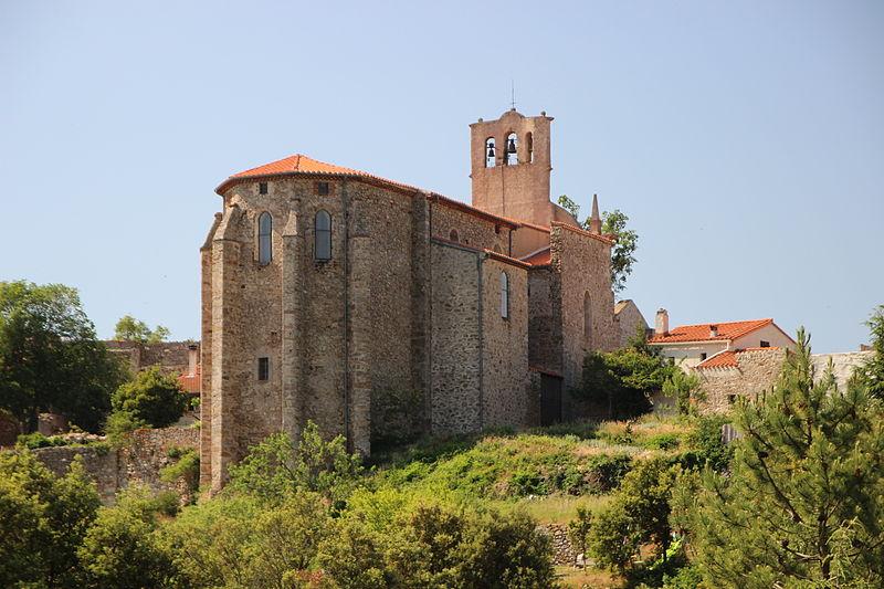 Photo du Monument Historique Eglise Saint-Etienne situé à Campoussy