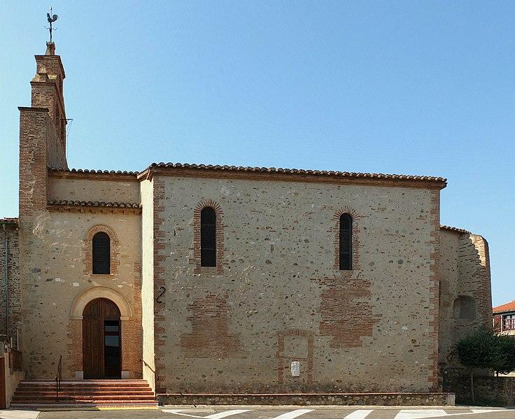 Photo du Monument Historique Eglise Saint-Cyr-et-Sainte-Julitte situé à Canohès