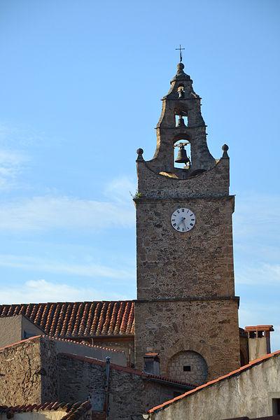 Photo du Monument Historique Eglise Saint-Etienne situé à Caramany