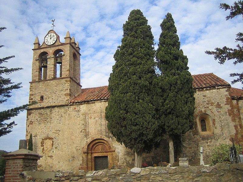 Photo du Monument Historique Eglise Notre-Dame situé à Castelnou