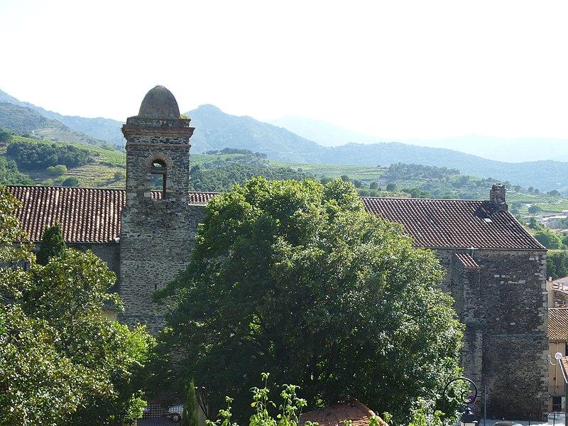 Photo du Monument Historique Ancienne église et ancien couvent des Dominicains situé à Collioure