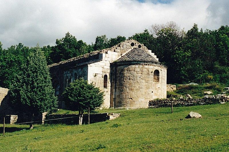 Photo du Monument Historique Ruines de l'ancienne église Saint-Martin situé à Corsavy