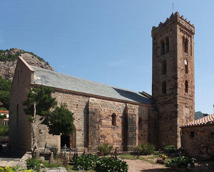 Photo du Monument Historique Eglise Sainte-Marie situé à Coustouges