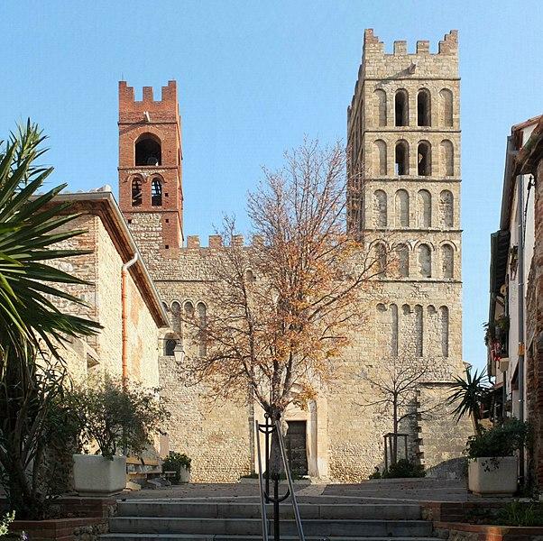 Photo du Monument Historique Eglise Sainte-Eulalie (ancienne cathédrale) situé à Elne
