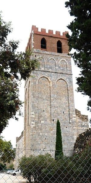Photo du Monument Historique Eglise Sainte-Marie situé à Espira-de-l'Agly