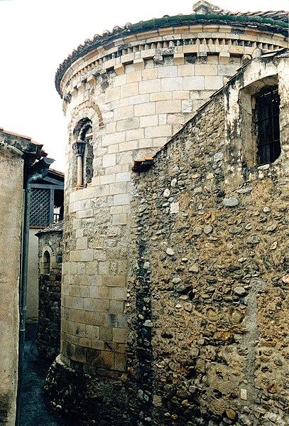 Photo du Monument Historique Eglise Sainte-Marie situé à Espira-de-Conflent
