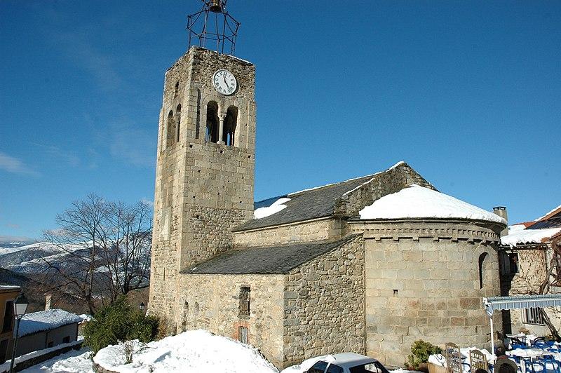 Photo du Monument Historique Eglise Saint-Félix situé à Fillols
