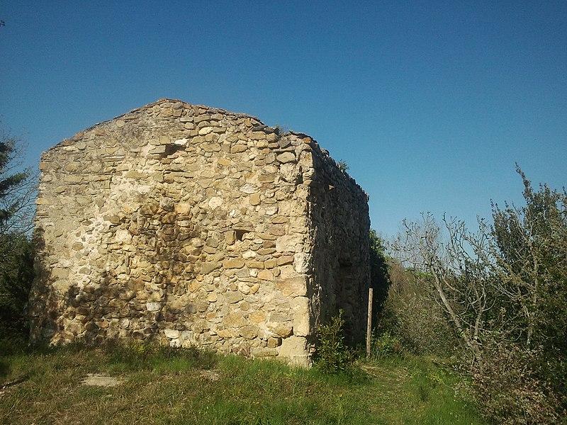Photo du Monument Historique Vestiges de la chapelle Saint-Vincent situé à Fourques