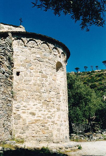 Photo du Monument Historique Ancienne chapelle Saint-Sauveur de Casenoves situé à Ille-sur-Têt