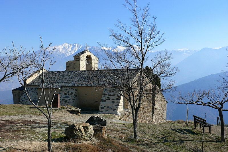 Photo du Monument Historique Eglise Saint-Julien et Sainte-Basilisse situé à Jujols