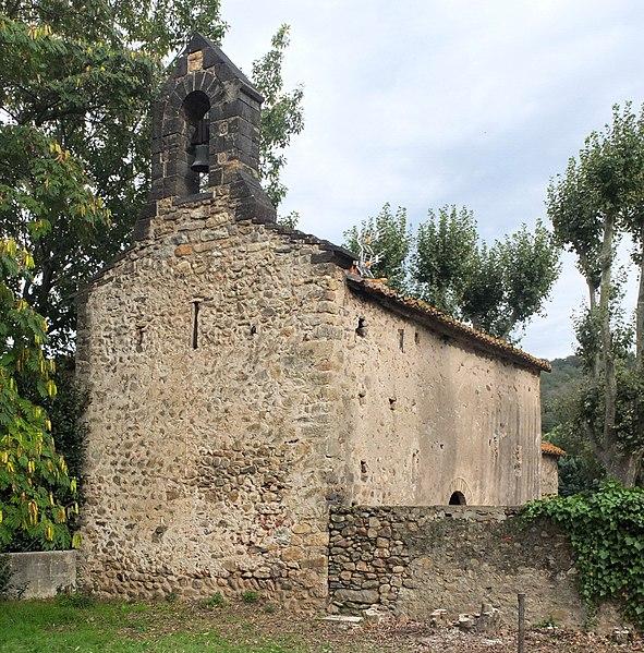 Photo du Monument Historique Chapelle de Saint-Martin-del-Fenouillar situé à Maureillas-las-Illas