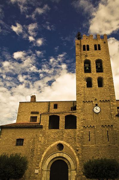 Photo du Monument Historique Eglise paroissiale Sainte-Eulalie et Sainte-Julie situé à Millas