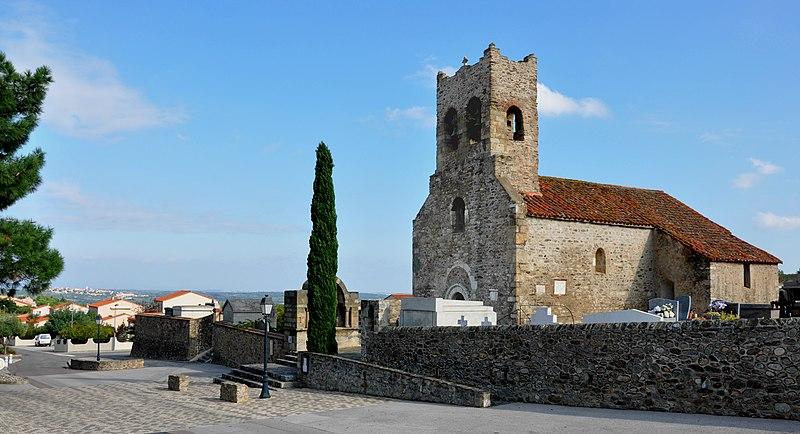 Photo du Monument Historique Eglise Saint-Saturnin situé à Montesquieu-des-Albères