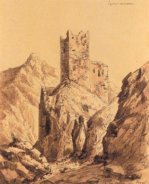 Photo du Monument Historique Ancien château de la Roca d'Anyer situé à Nyer