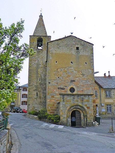Photo du Monument Historique Eglise Saint-Martin d'Odeillo situé à Font-Romeu-Odeillo-Via
