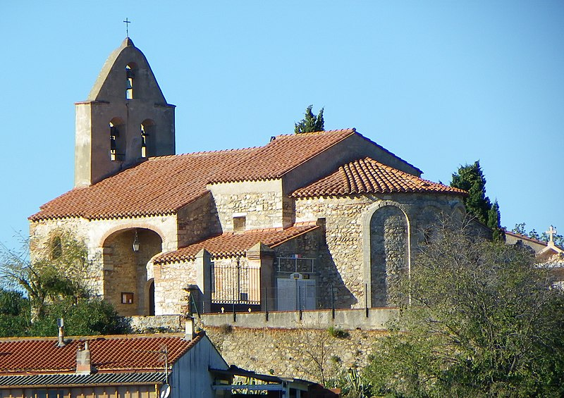 Photo du Monument Historique Eglise paroissiale Sainte-Eugénie situé à Ortaffa