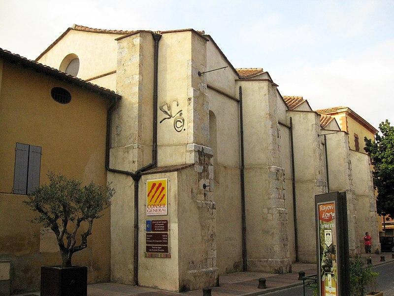 Photo du Monument Historique Ancienne chapelle Notre-Dame-des-Anges situé à Perpignan