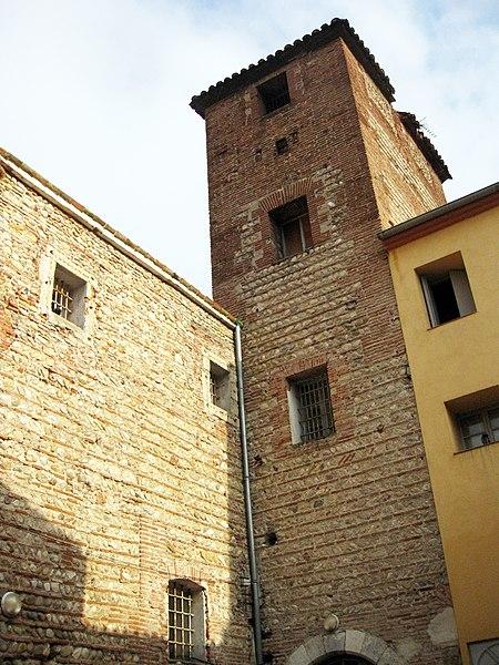Photo du Monument Historique Ancien couvent Sainte-Claire situé à Perpignan