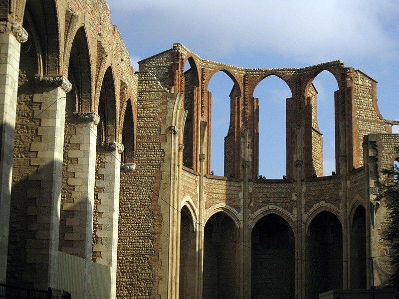 Photo du Monument Historique Ancienne église des Carmes situé à Perpignan