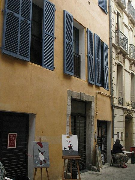 Photo du Monument Historique Hôtel Saint-Antoine situé à Perpignan