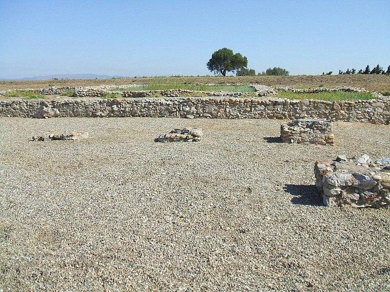 Photo du Monument Historique Oppidum gallo-romain de Ruscino situé à Perpignan