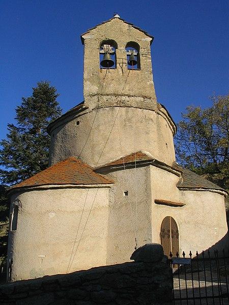 Photo du Monument Historique Eglise Notre-Dame-de-la-Merci situé à Planès
