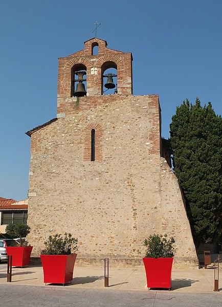 Photo du Monument Historique Eglise Saint-Martin situé à Pollestres