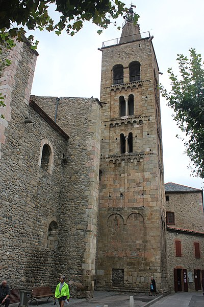 Photo du Monument Historique Eglise Saint-Pierre situé à Prades
