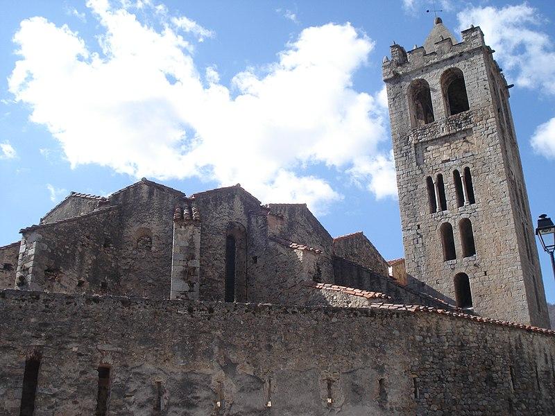 Photo du Monument Historique Eglise Saint-Juste-et-Sainte-Ruffine situé à Prats-de-Mollo-la-Preste