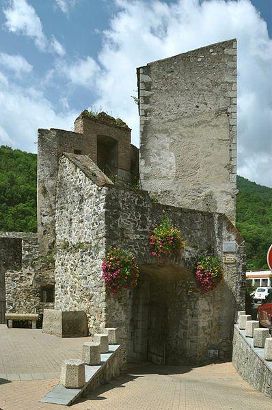 Photo du Monument Historique Porte d'Espagne situé à Prats-de-Mollo-la-Preste