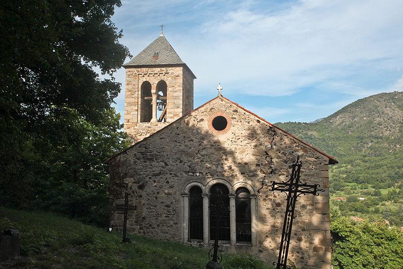 Photo du Monument Historique Eglise Saint-Etienne situé à Sahorre