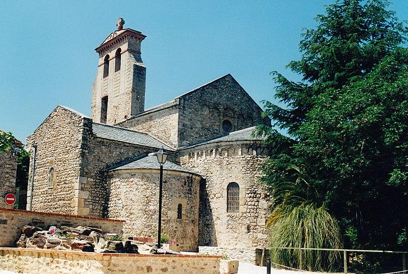 Photo du Monument Historique Eglise Saint-André de Sorède situé à Saint-André