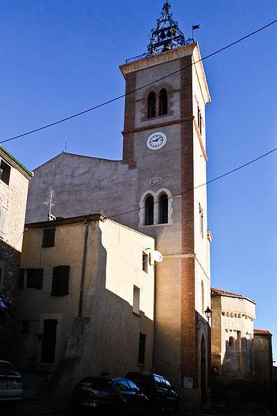 Photo du Monument Historique Eglise Saint-André situé à Saint-Féliu-d'Avall