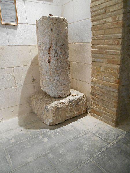 Photo du Monument Historique Colonne milliaire situé à Saint-Hippolyte