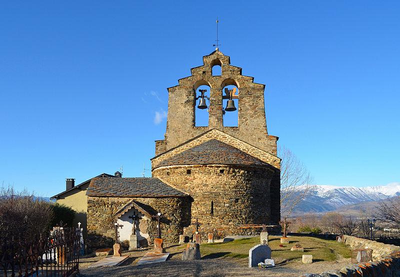 Photo du Monument Historique Eglise Sainte-Léocadie situé à Sainte-Léocadie