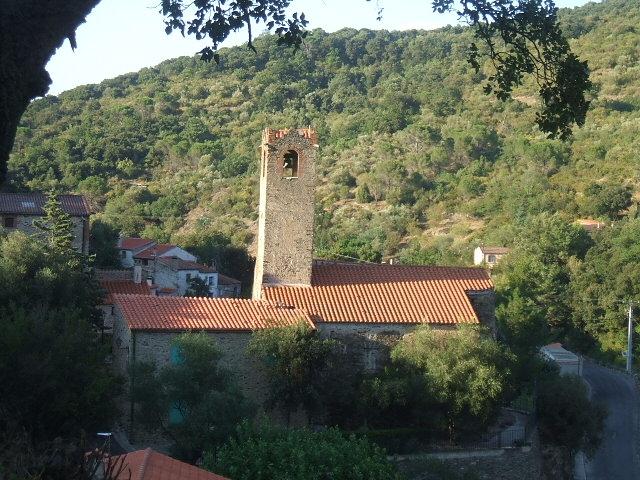 Photo du Monument Historique Eglise Saint-Michel situé à Saint-Michel-de-Llotes