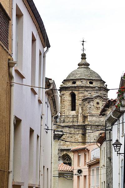 Photo du Monument Historique Eglise du chapître situé à Saint-Paul-de-Fenouillet