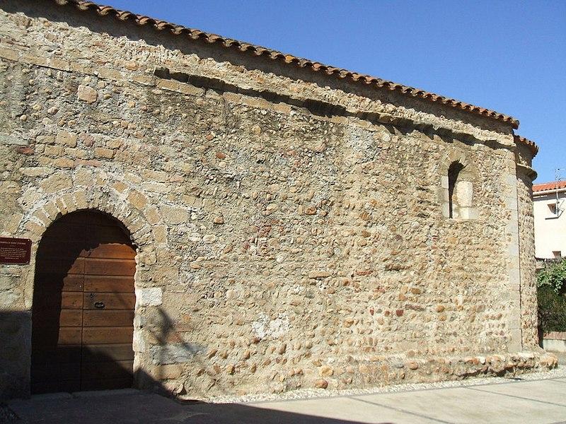 Photo du Monument Historique Ancienne église paroissiale Saint-Etienne situé à Saleilles