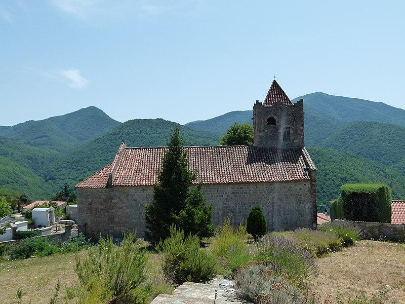 Photo du Monument Historique Eglise Sainte-Marie situé à Serralongue